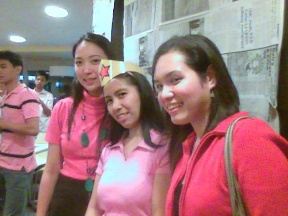 Sarah, Cess and Erna!