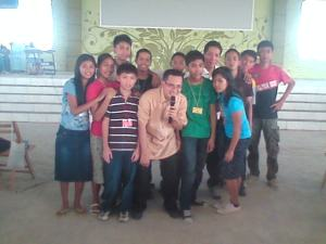 Pr. RC Cayanan poses here with his YP from MBBC Taguig